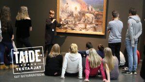 Nuorille taidetestaajille etsitään jälleen innostavia käyntikohteita – haku alkaa elokuussa! / Unga Konsttestare söker inspirerande besöksmål – ansökningstiden börjar i augusti!