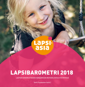 Lapsiasiavaltuutetun toimiston Lapsibarometri 2018 -tutkimus on julkaistu
