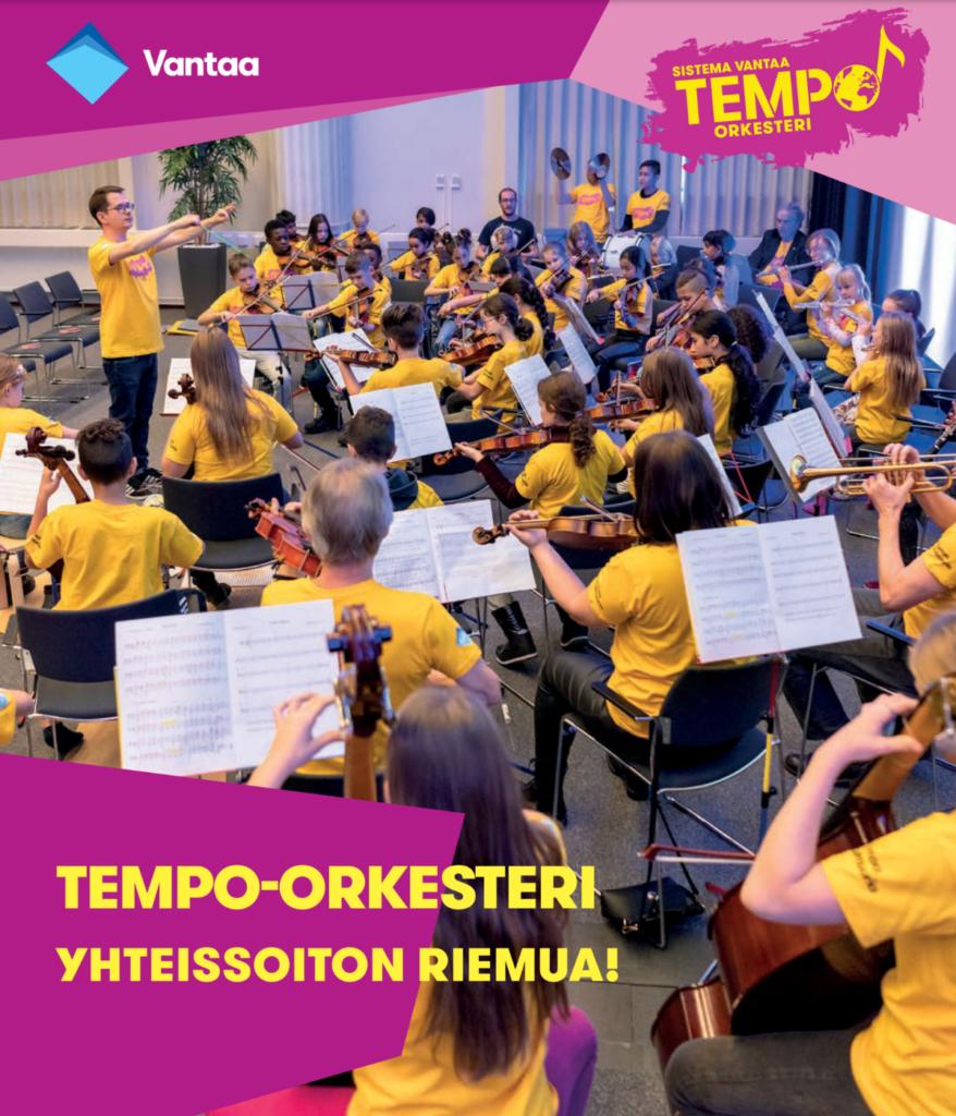 Tempo-orkesteri: Yhteissoiton riemua!